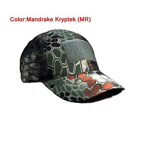 89440bc01be95 Hunting- H World Shopping Outdoor Adjustable Baseball Velcro Cap Kryptek  Camo…