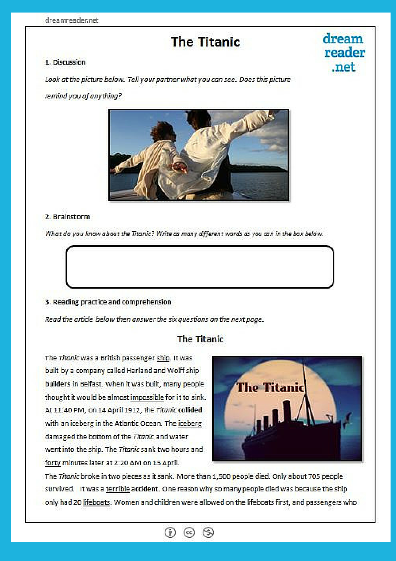 Here Is A Free English Lesson Pack For Teachers About The