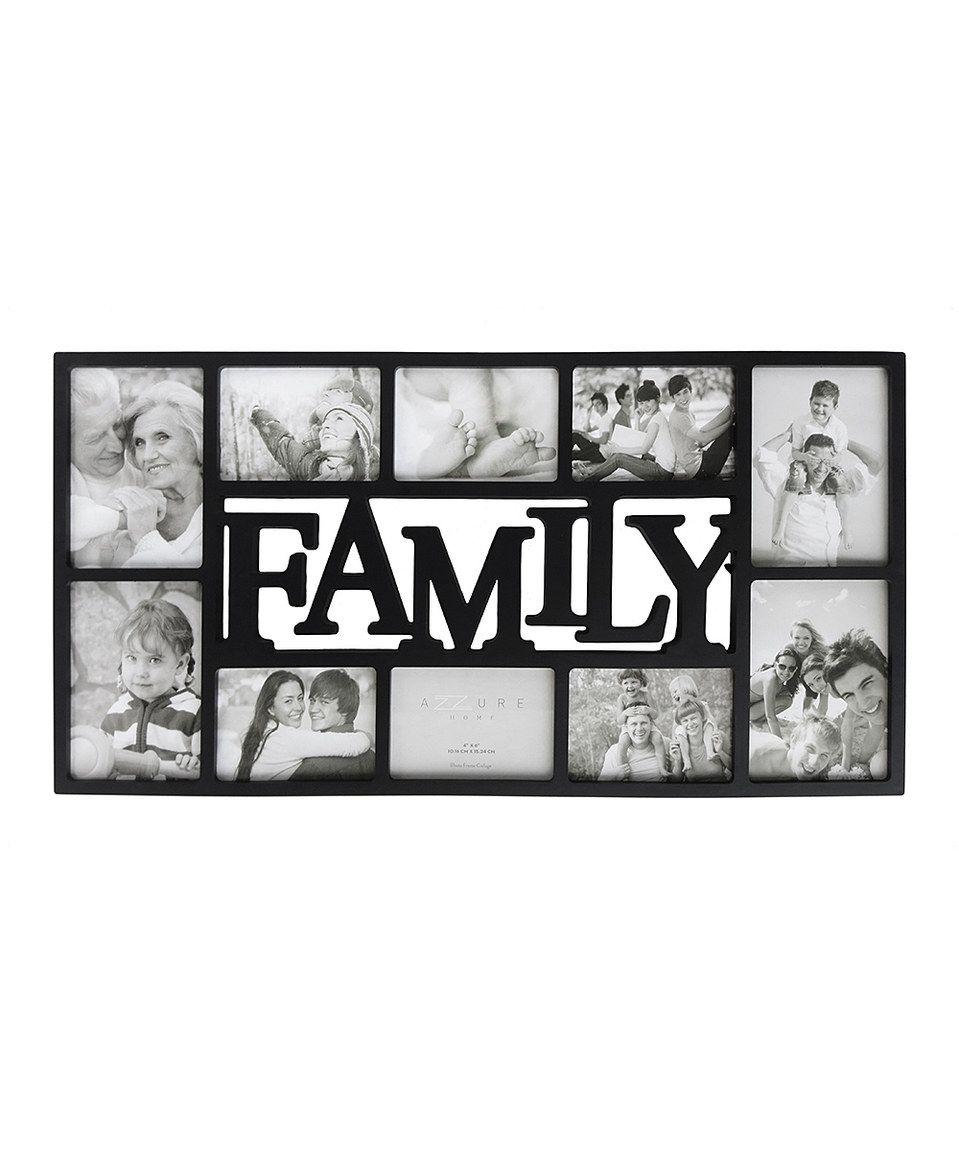 Look At This Zulilyfind Family Collage By Azzure Home Zulilyfinds