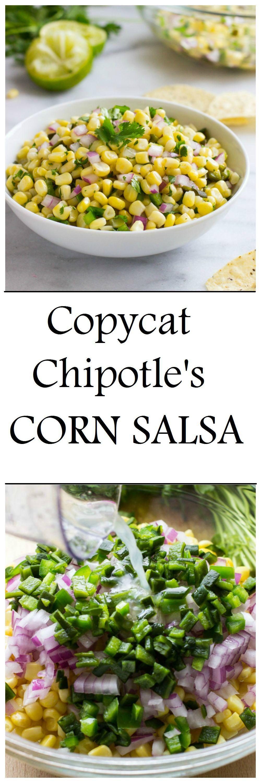 copycat chipotle recipe corn salsa key ingredient and copycat