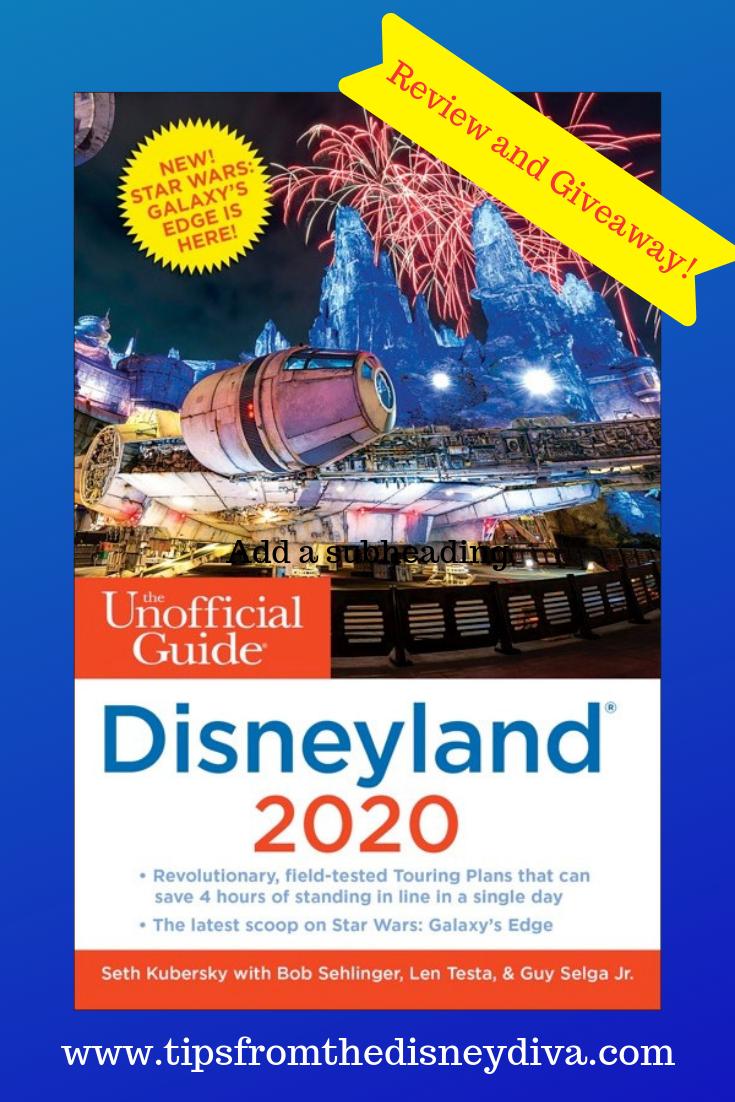 Unofficial Guide to Disneyland 2020 Review Disney divas