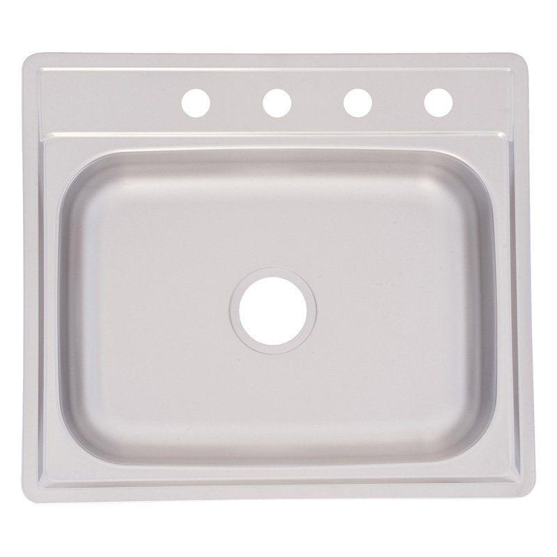 Fhp Fss604n Single Basin Topmount Kitchen Sink Sink Single Bowl