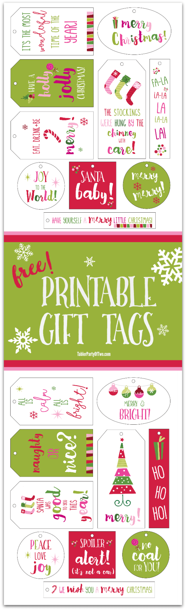 Free Printable Gift Cards, Collection 2 | Geschenkanhänger, Wrapping ...