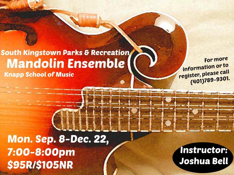 South kingstown parks recreations mandolin ensemble