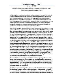 Billy elliot essay student essays summary
