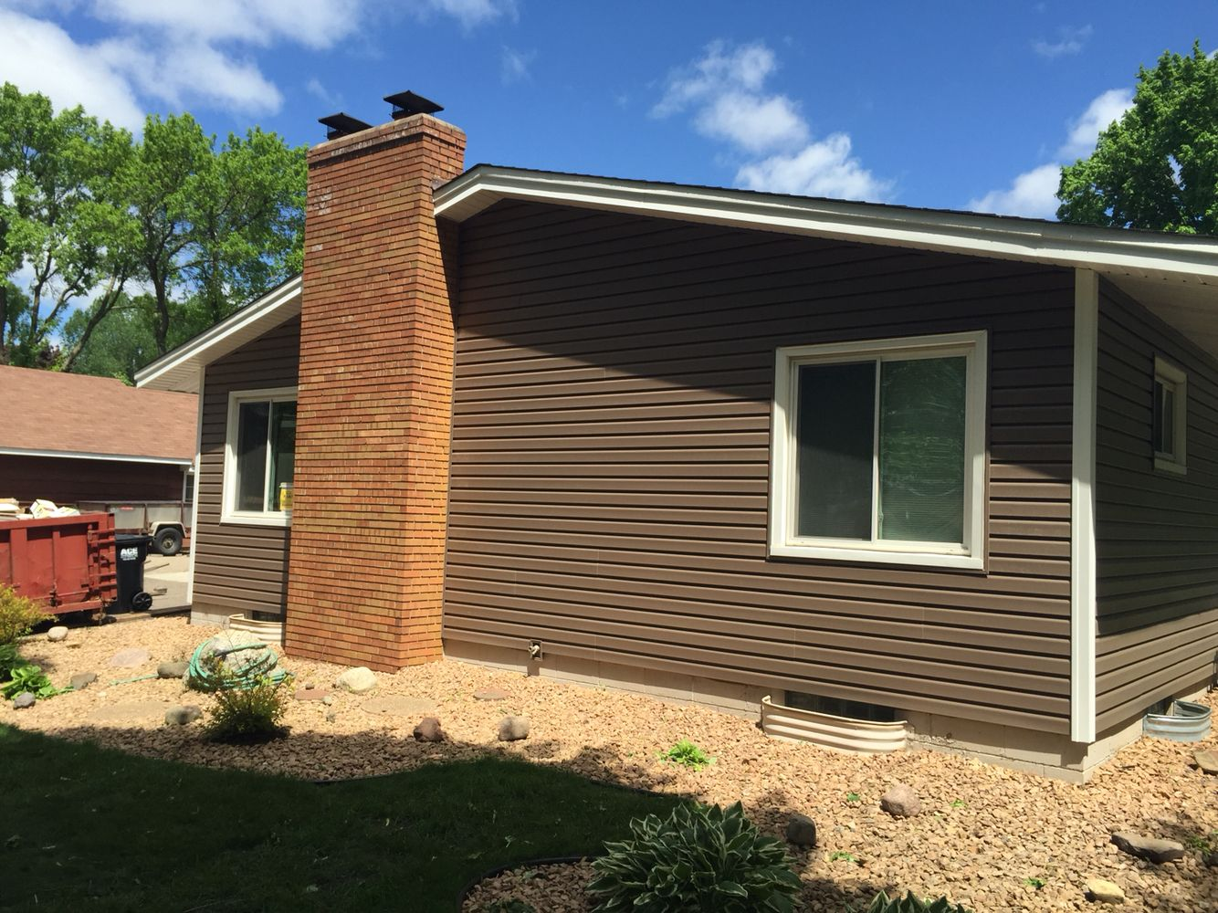 Log Vinyl Siding Attractive Home Design