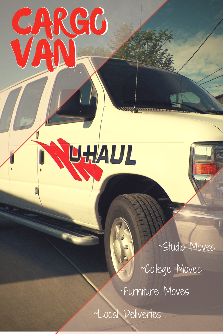 U Haul Cargo Vans Are Popular With Students Who Are Moving Into Dorms Or Apartments For College One Way Cargo Van Rentals Are Availa Cargo Van Van Rental Vans
