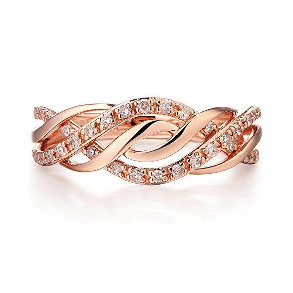 Diamond Wedding Band 10k Rose Gold Round Diamond Engagement Rings Fashion Rings Morganite Diamond Engagement Ring