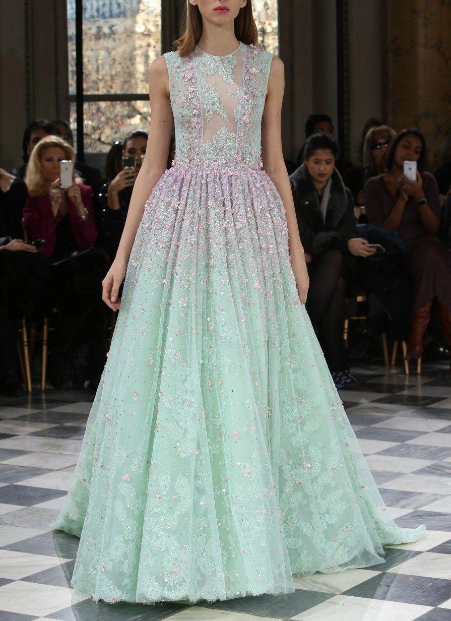 "skaodi: "" Georges Hobeika Haute Couture Spring 2016. Paris Fashion Week. """