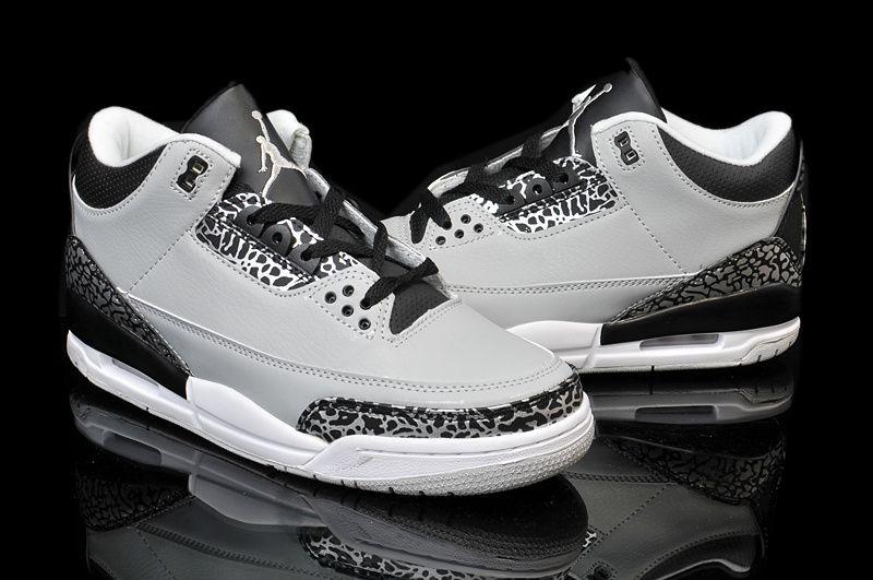 Nike Air Jordan Retro 3 Wolf Grey