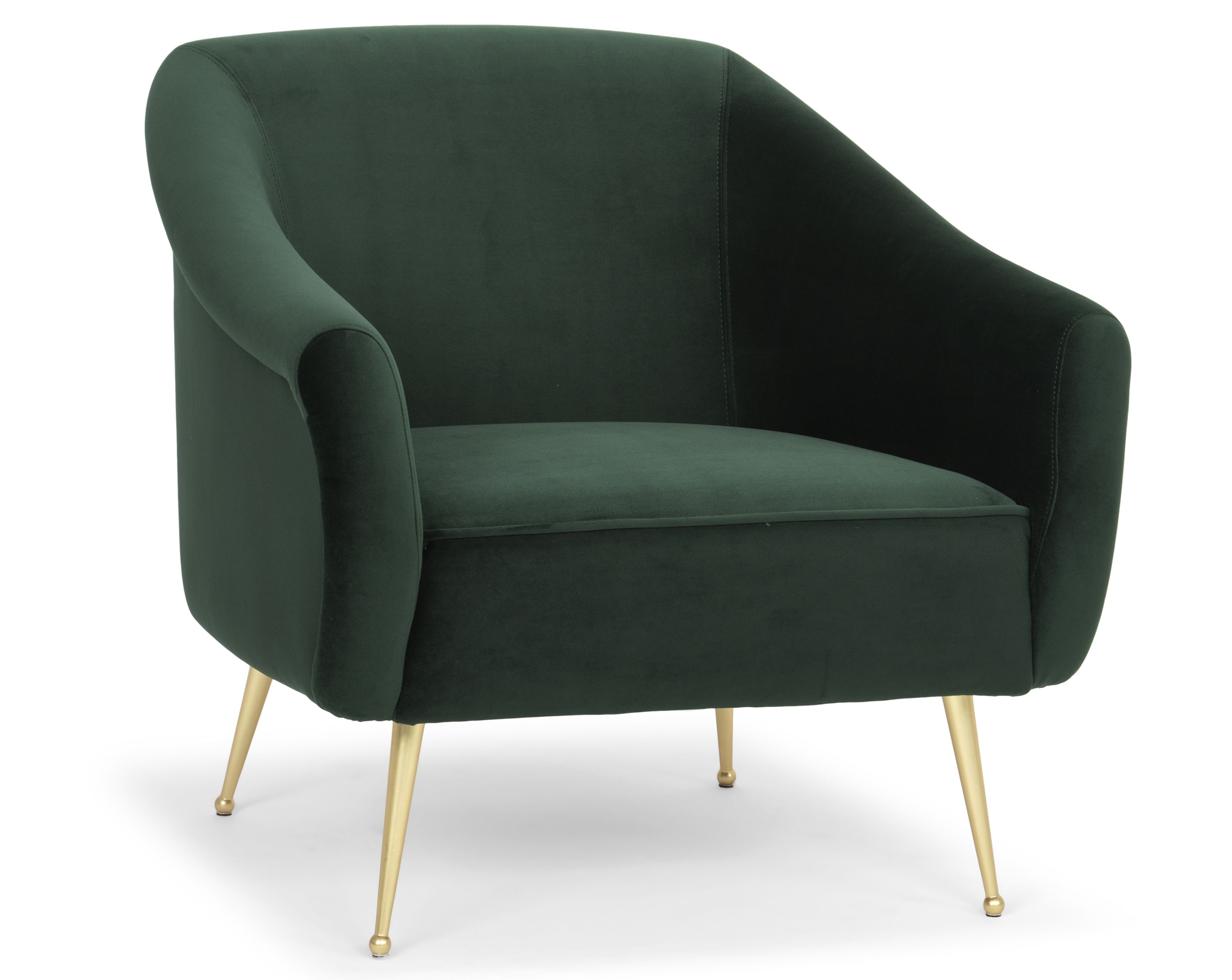 Adele Arm Chair Emerald Green Furnish Armchair Chair