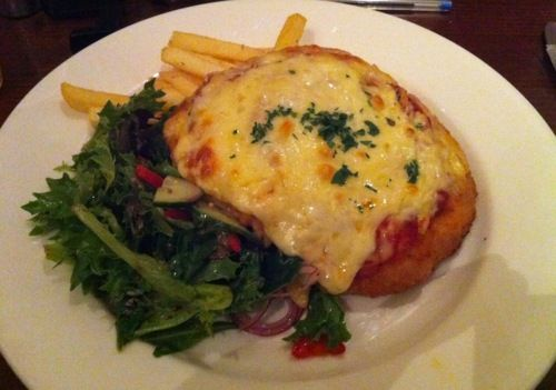 Chicken parma from The Mint, Melbourne