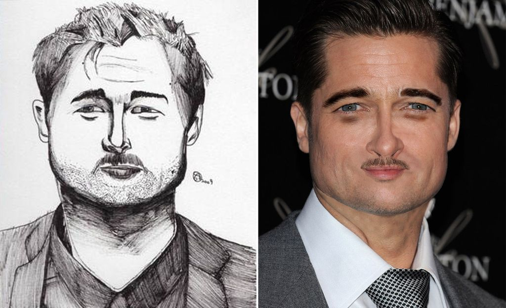 <b>Using online fan art for inspiration, we used the power of Photoshop to recreate celebrities as their fans imagine them.</b> Sorry if these give you nightmares...