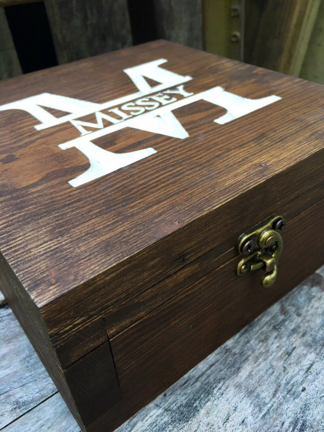gift for men personalized gift box memory box wedding gift