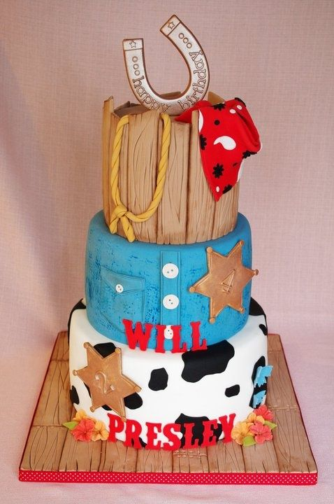 Western birthday cake Party Ideas Pinterest Western birthday
