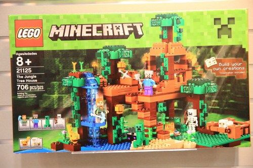 Minecraft Lego Jungle Tree House 21125 Jungle Tree Tree House