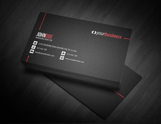 The Science behind a Business Card | Designbeep