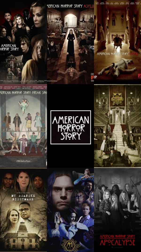 American Horror Story wallpaper, all seasons American