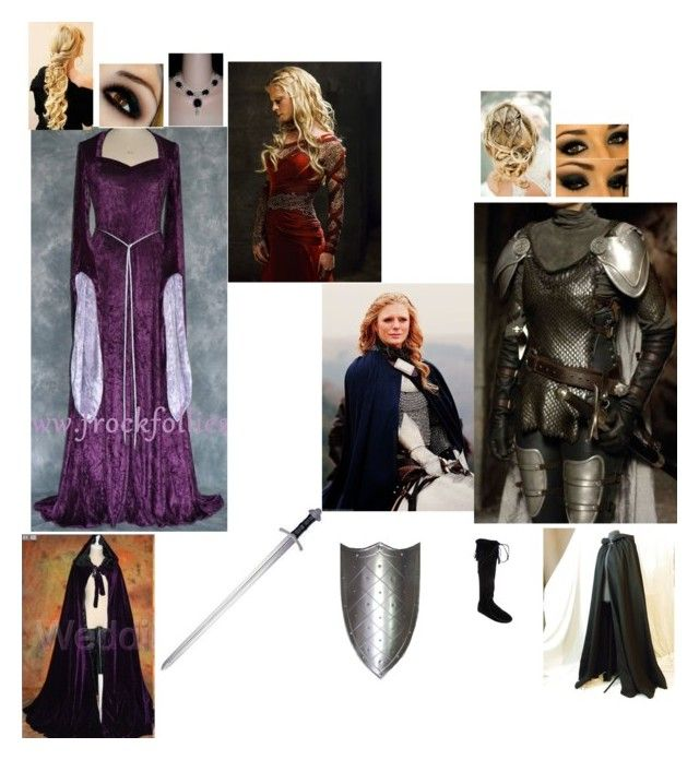 """Morgause teaching you how to sword fight"" by quata ❤ liked on Polyvore featuring S.W.O.R.D., Minnetonka and Mymerlinsets"