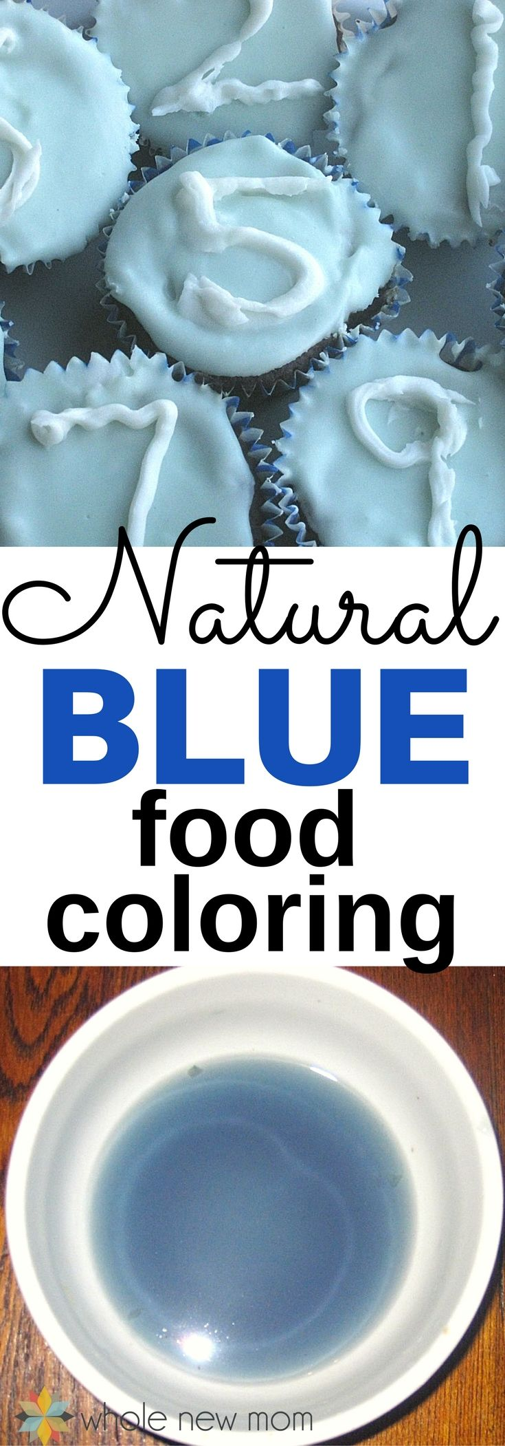 Homemade Natural Blue Food Coloring