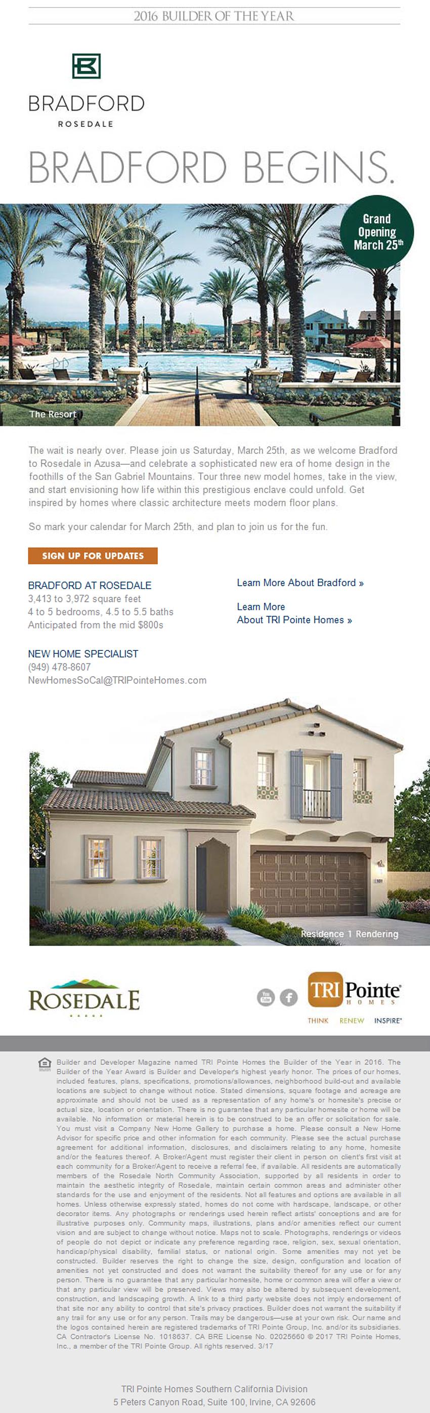 new homes for sale in azusa california bradford in azusa grand