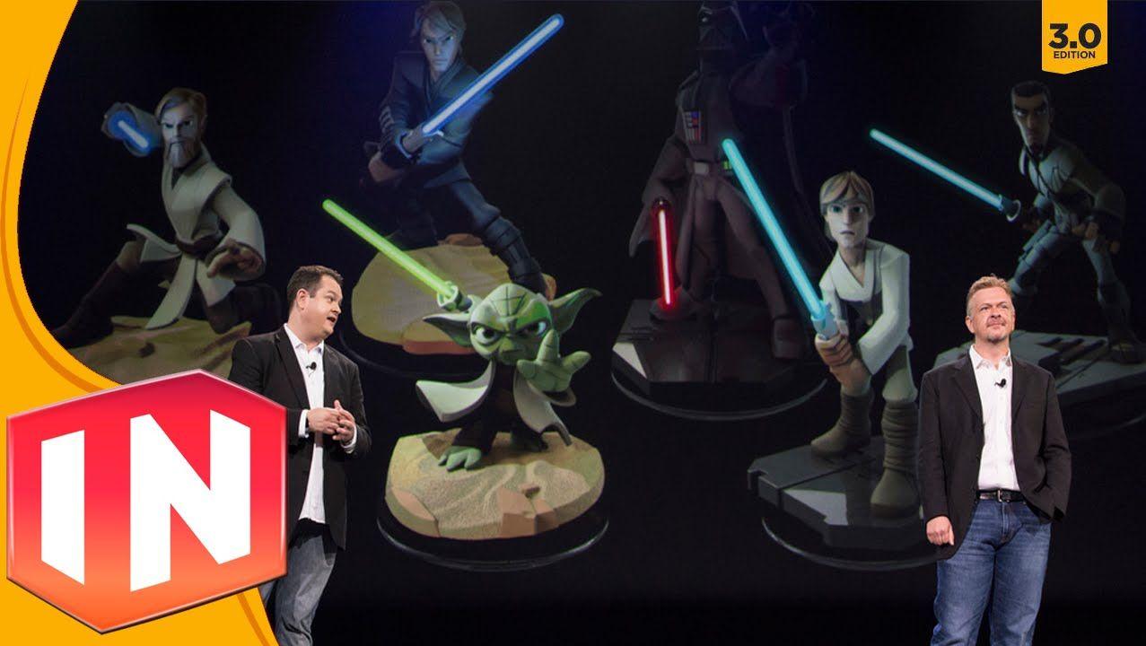 Star Wars Light FX Figures Released for \'Disney Infinity 3.0 ...