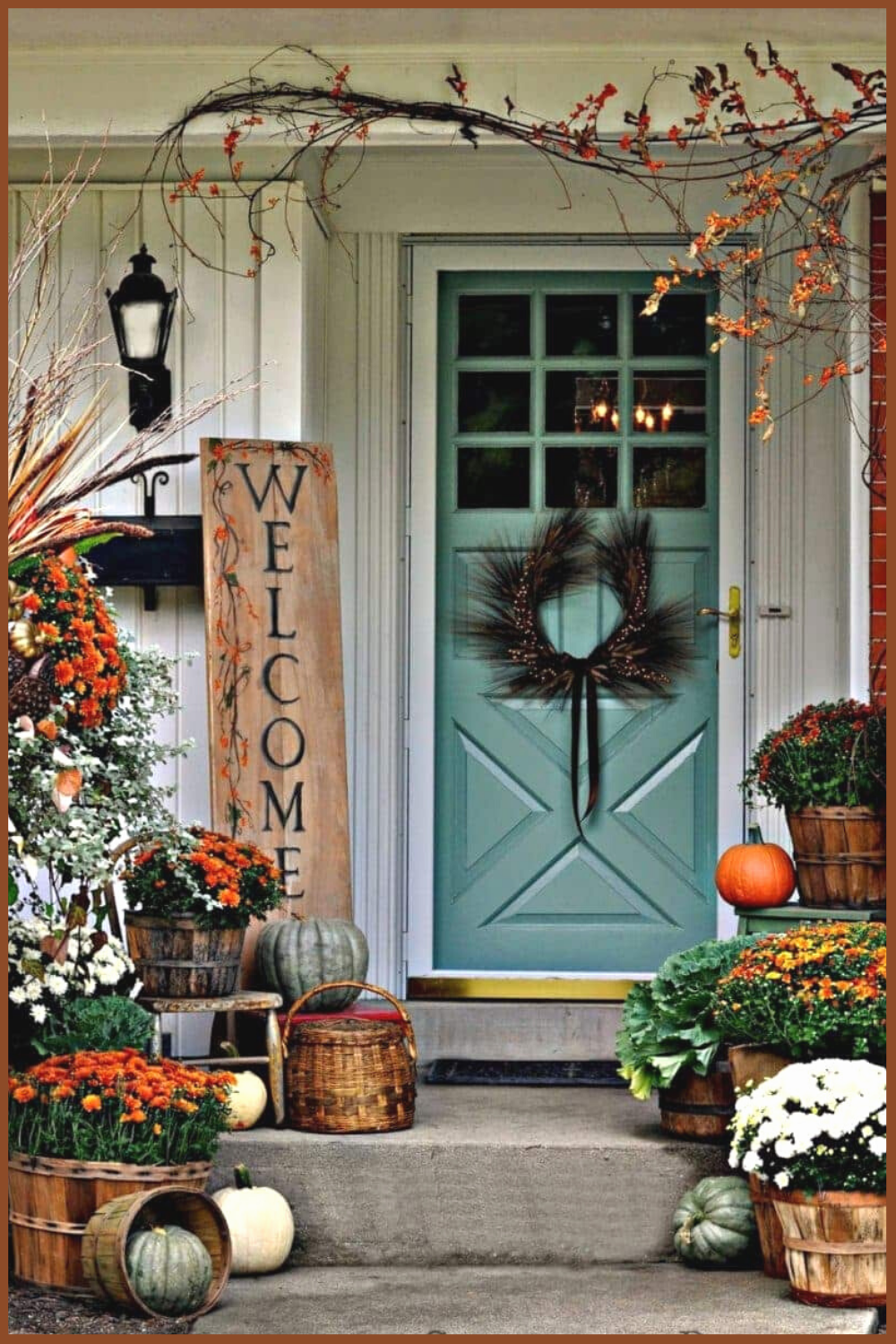 15 Fall Front Porch Decorating Ideas Make Your Porch Look Amazing Fall Front Porch Decor Fall Decorations Porch Front Porch Decorating