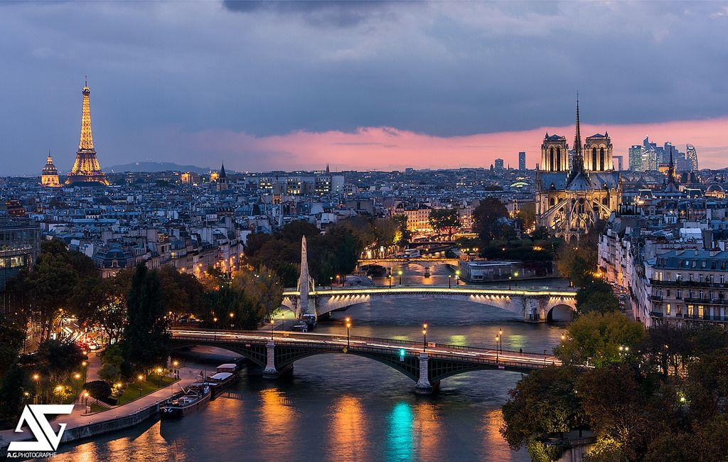 Notre-Dame, Tour Eiffel, Arc de Triomphe, Grand Palais, La Défense