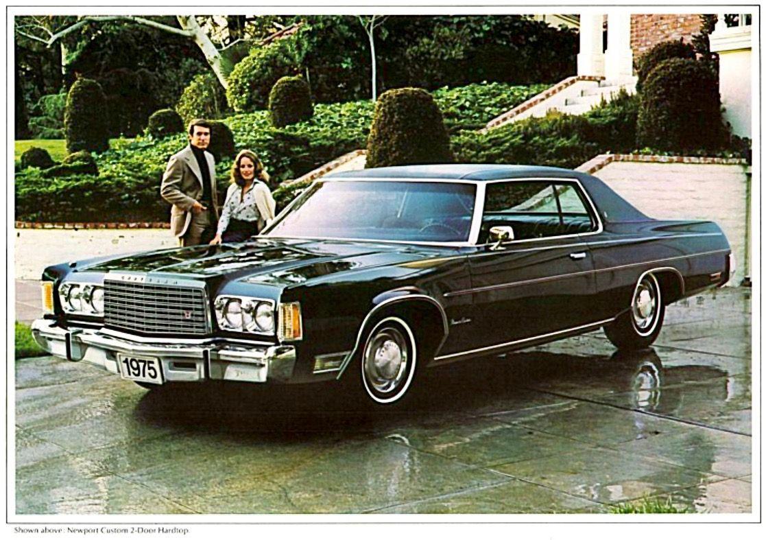 1975 Chrysler Newport Custom With Images Chrysler Imperial