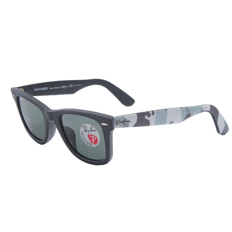 5587518ee077d Ray-Ban Wayfarer RB2140F Sunglasses 115658