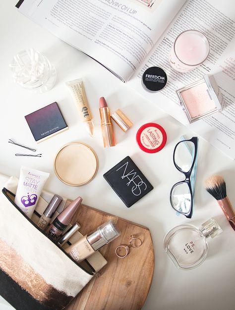 My Everyday Makeup Bag.