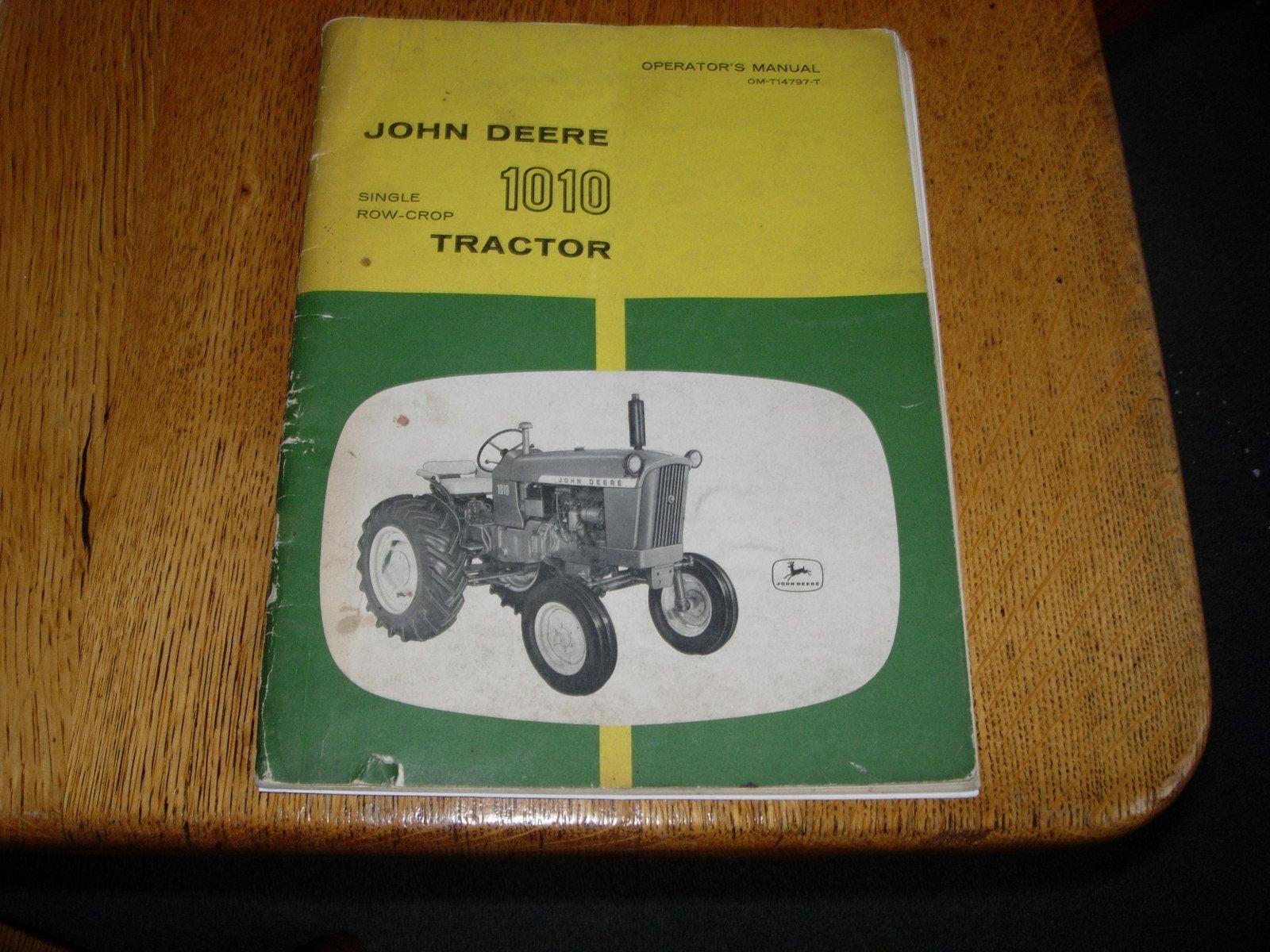 John Deere 1010 Tractor Diagram Wiring Vintage Operators Manual 1600x1200