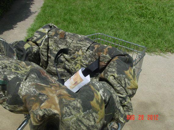 Mossy Oak Camo Shopping Cart High Chair Cover Highchair Cover