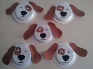 dog craft with paper plate « funnycrafts & dog craft with paper plate « funnycrafts   dentist   Pinterest