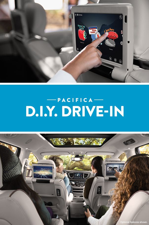 Thanks To The All New 2017 Chrysler Pacifica You Can Have A Drive