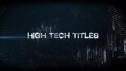 High Tech Titles & Logo - Project for After Effects (Videohive)