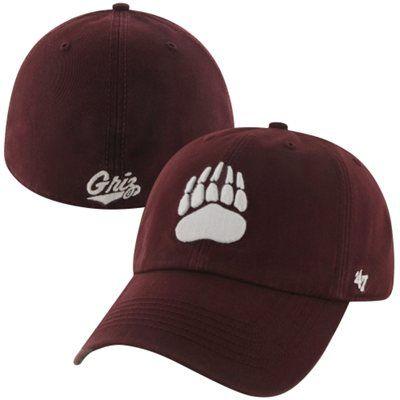 Montana Grizzlies Franchise Fitted Hat – Red | hats hats hats | Hats