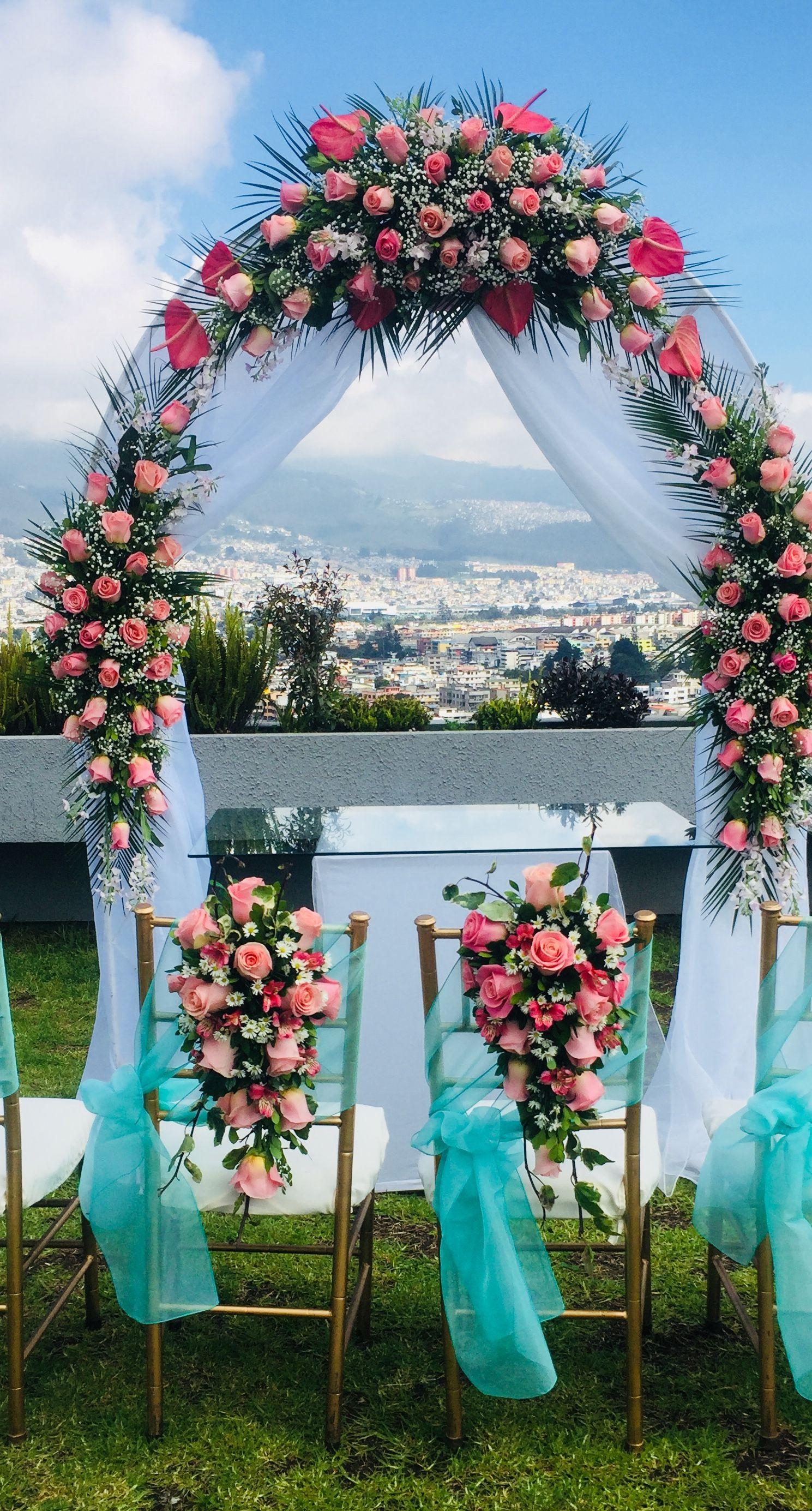 Arco Para Ceremonia Decoracion Bodas Sillas Decoradas Boda Elegante