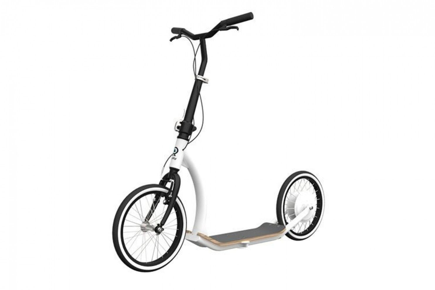 This Electric Scooter For Urban Commuters Coasts On Its