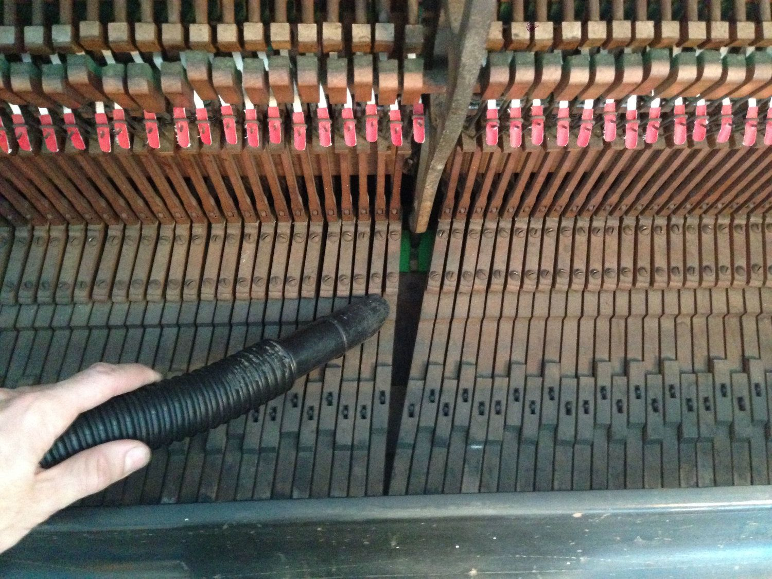 How to deep clean an upright piano deep cleaning