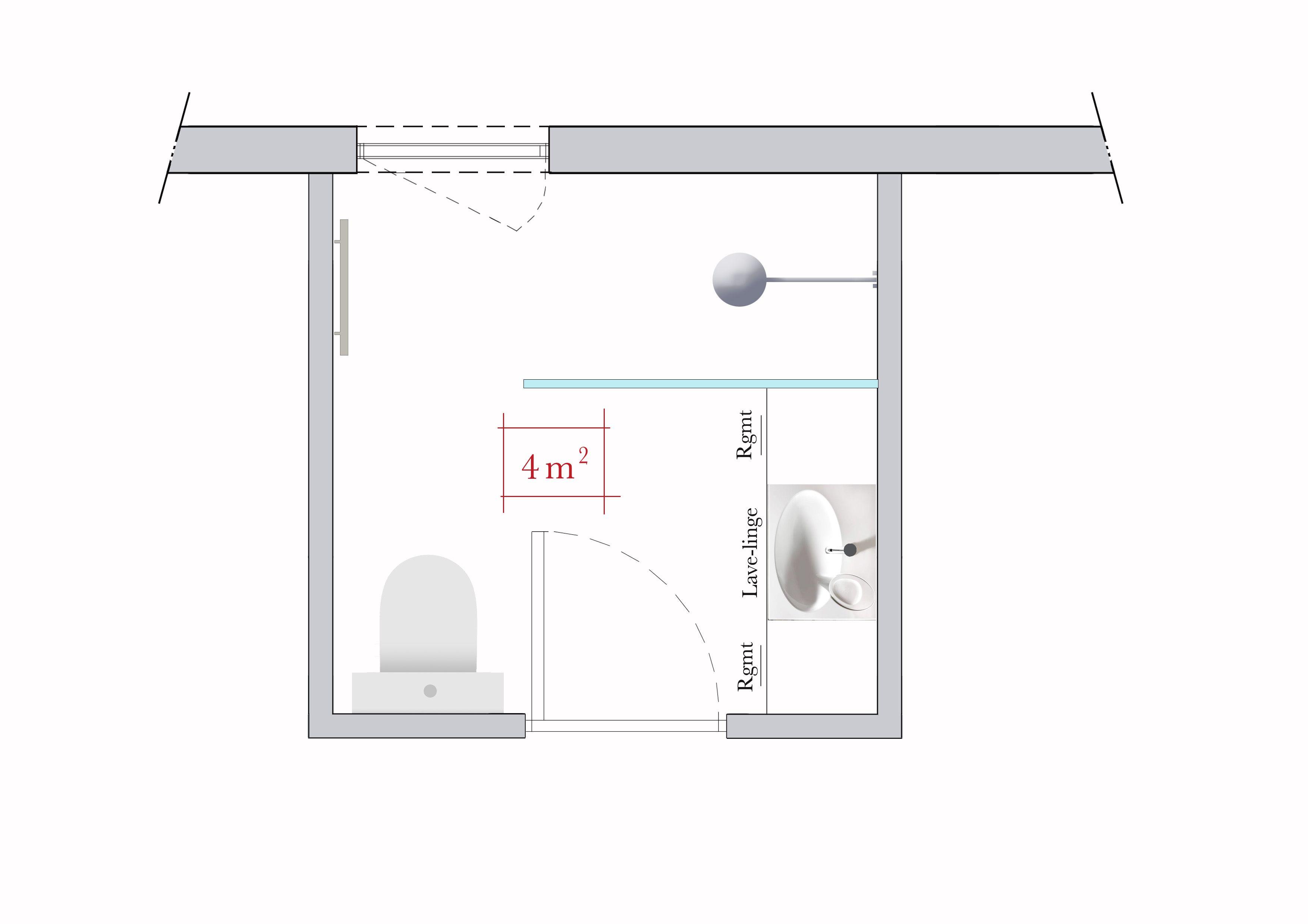 Conseils D Architecte 4 Plans De Salle De Bains Carree Bader Ideen Bad Wc 2018