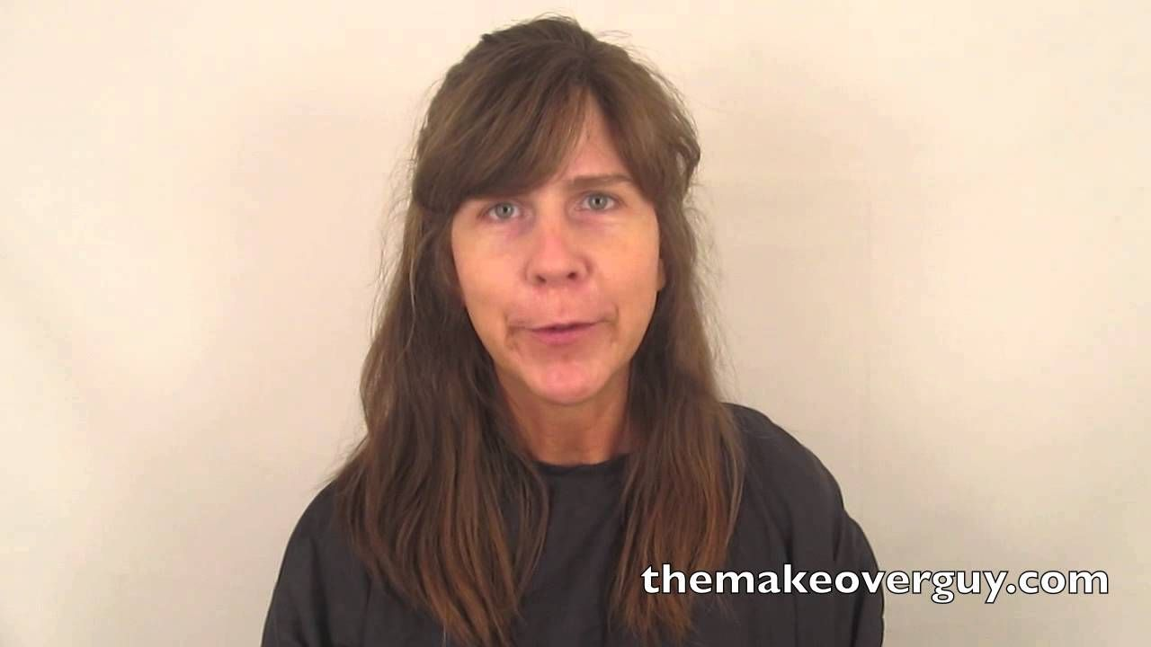 dramatic long hair cut short makeover by christopher pin on beauty