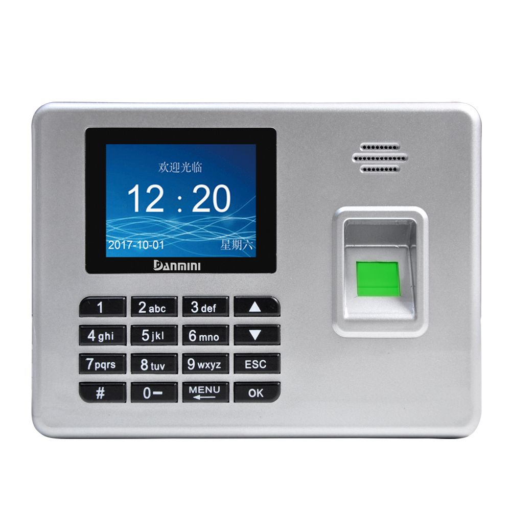 danmini a3 silver fingerprint door lock biometric fingerprint