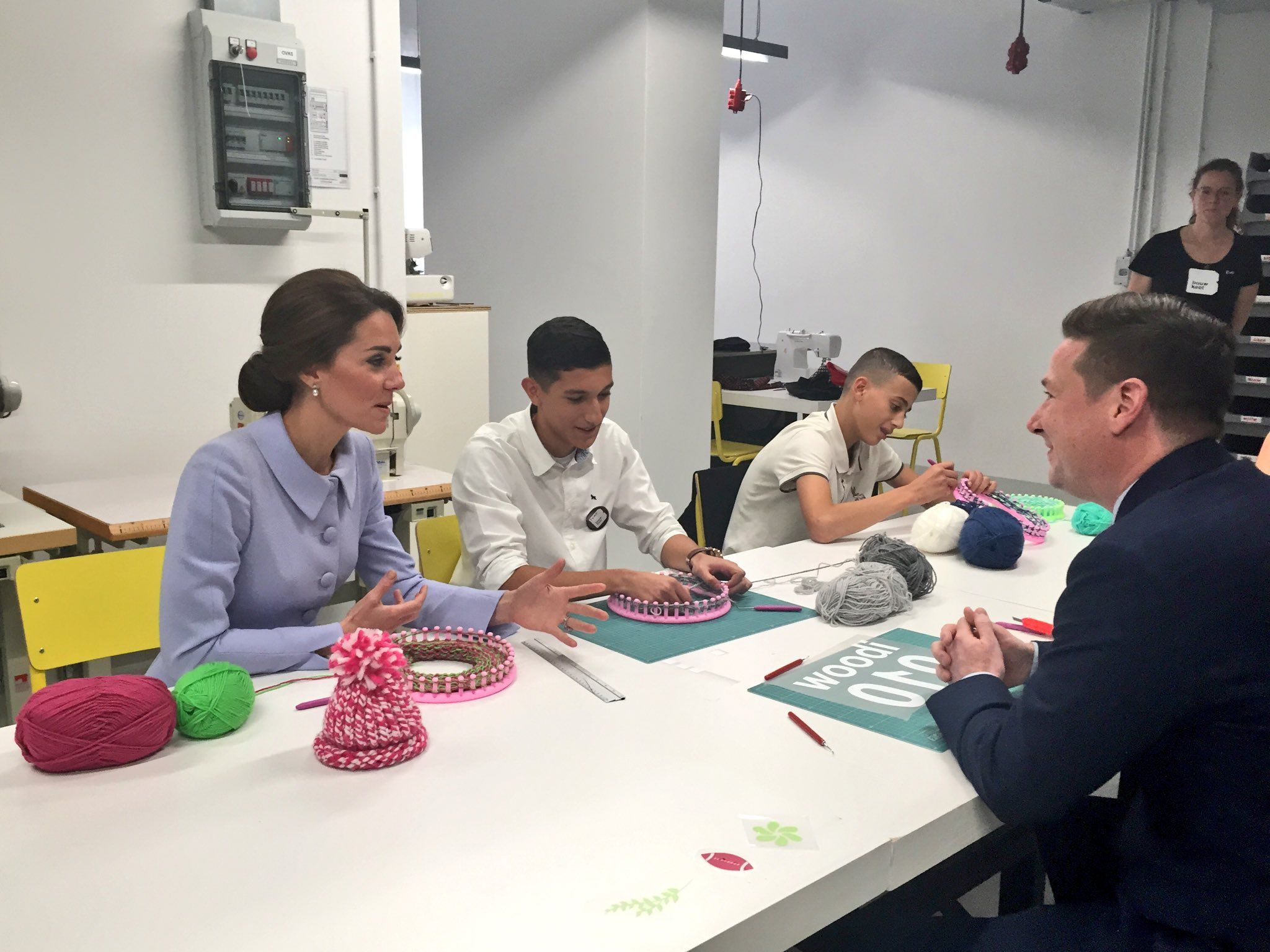 """Kensington Palace on Twitter: """"Textiles, ceramics, bike mechanics and IT programming are just some of the skills local craftsman share with local kids @BouwKeet_RTD"""