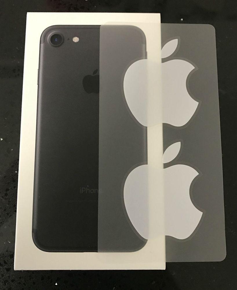 2x apple logo label white sticker laptop ipod iphone 7 plus computer macbook new unbrandedgeneric