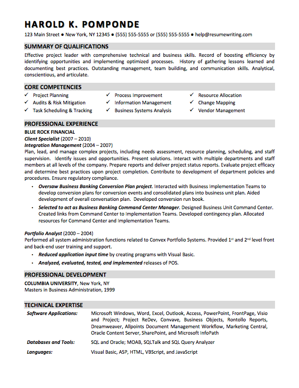 Business Analyst Professional Resume Google Search Business Analyst Resume Business Resume Resume Summary Examples