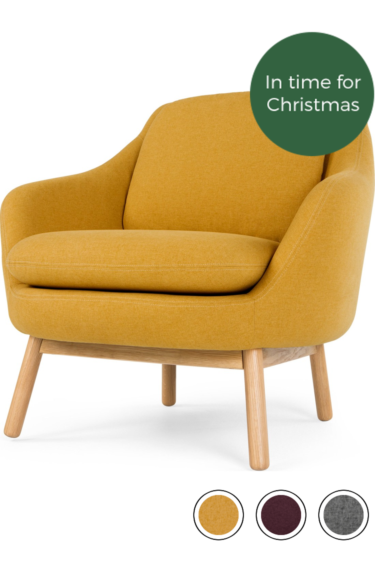 Oslo Accent Chair Yolk Yellow Yellow Armchair Accent Chairs Chair