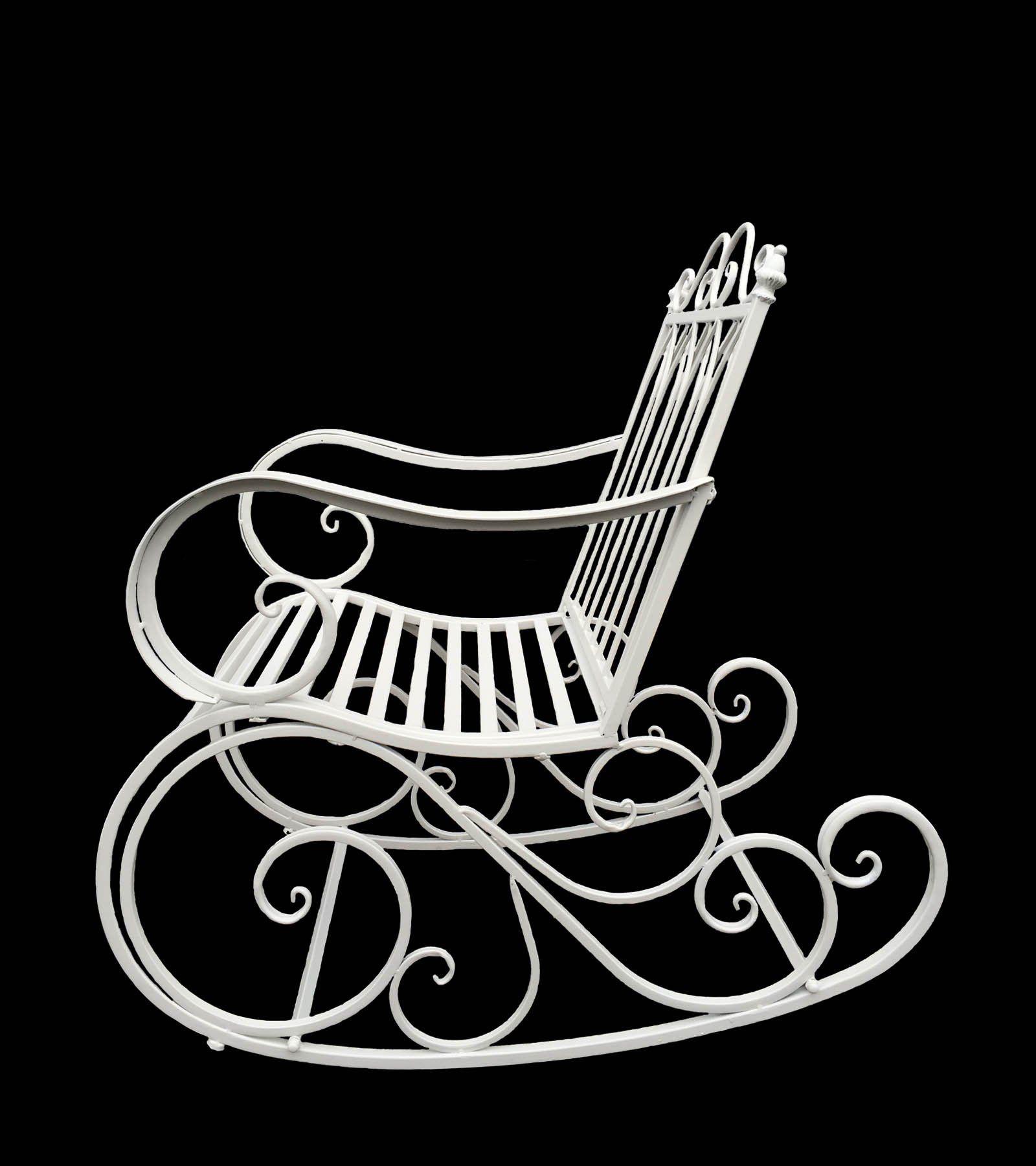 Silla de relax de hierro mecedora hogar - Sillas de hierro ...