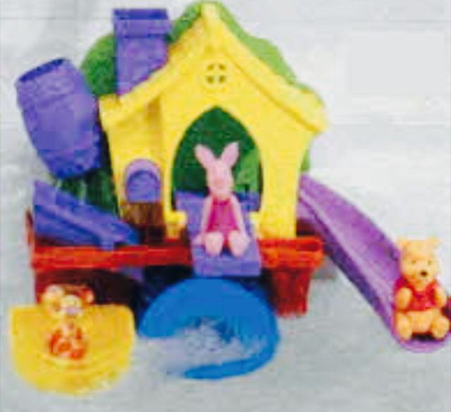 Winnie The Pooh Bath Toy You Loved Pouring Water On Wheel Til