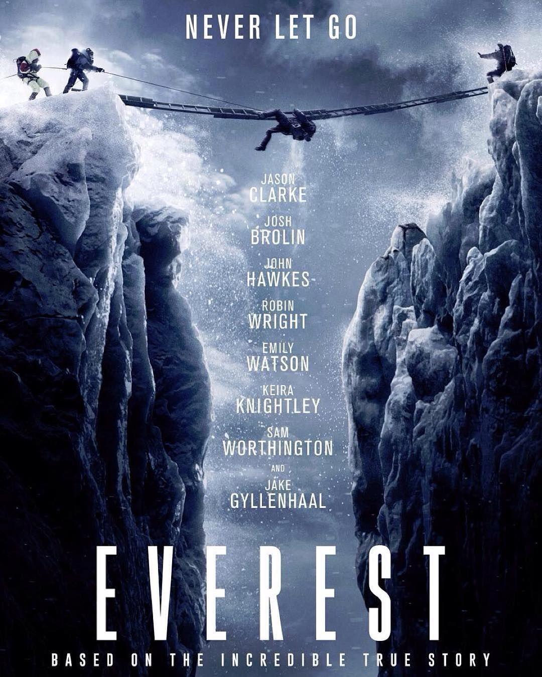 Everest Movie Poster Filmes Shows